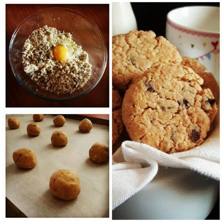 biscotto cookies senza burro dolce ricetta facile