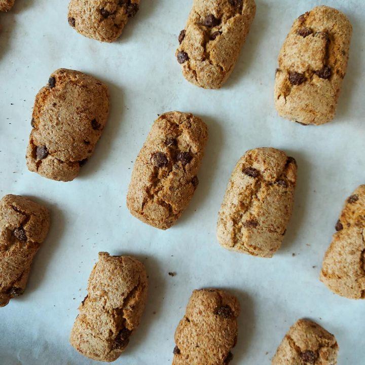 impasto biscotti rusticotti con cioccolato senza burro