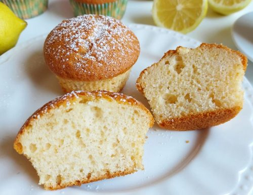 MUFFIN PARADISO AL LIMONE dolce soffice