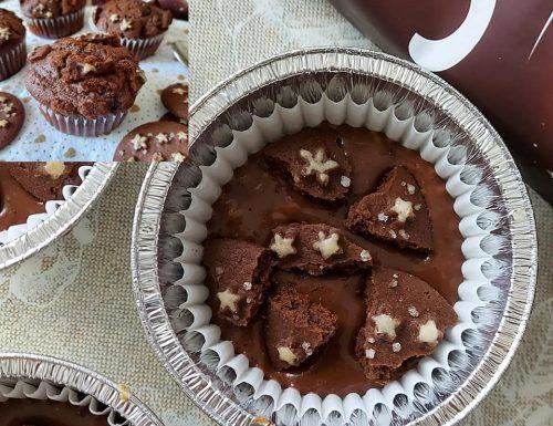 IMPASTO MUFFIN MAGIA DI STELLE dolce con pezzi di biscotti