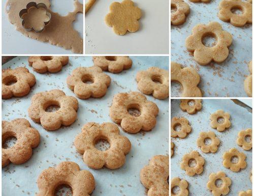IMPASTO BISCOTTI SEMPLICI DA COLAZIONE dolce ricetta senza burro