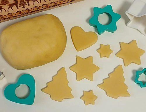 IMPASTO PASTA FROLLA NATALIZIA ottima per biscotti