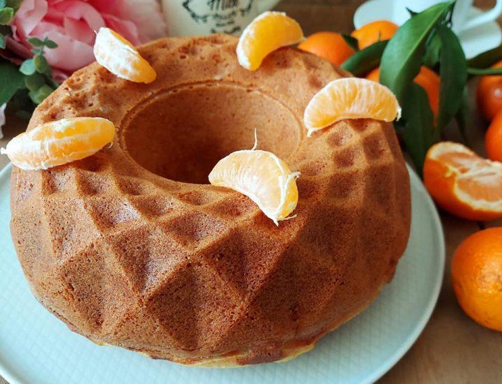 ciambella soffice alle clementine dolce senza burro