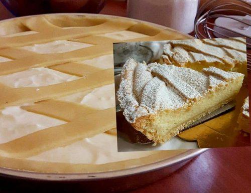 CROSTATA DI RICOTTA SEMPLICE E FAVOLOSA dolce ripieno cremoso