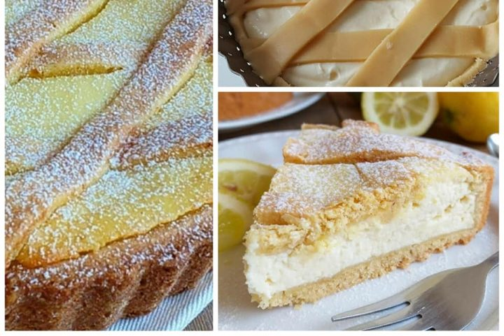 crostata favolosa mascarpone e limone dolce ripieno cremoso