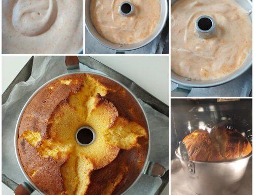 TORTA CHIFFONCAKE ARANCIA E CAROTE dolce soffice senza burro