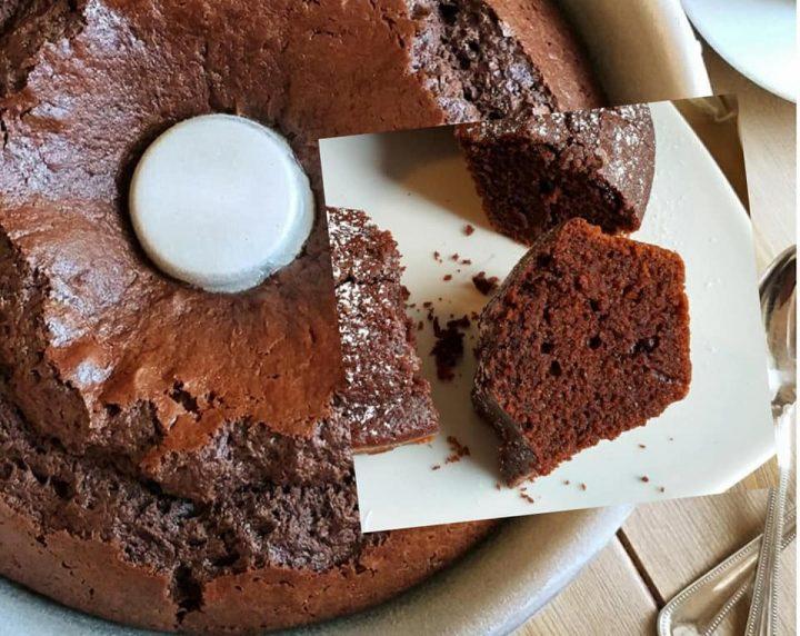 ciambella della nonna con cacao dolce soffice senza burro