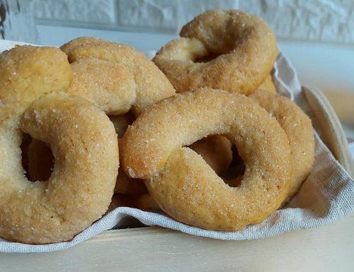 CIAMBELLINE DA INZUPPO DELLA NONNA dolci biscotti senza burro