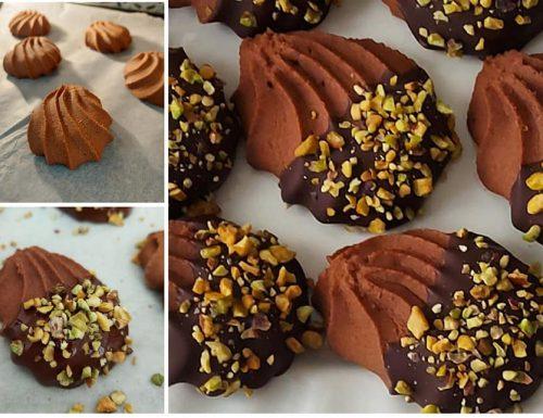 IMPASTO BISCOTTI PASTICCERIA GOLOSA con cacao e cioccolato