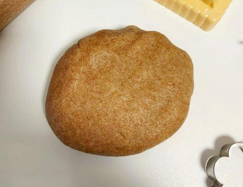 PASTA FROLLA DI GRANO SARACENO dolce impasto per crostate e biscotti