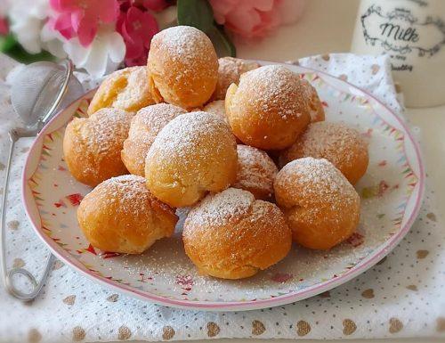 CASTAGNOLE PERFETTE ALLA RICOTTA dolce tipico di carnevale