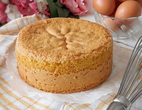 PAN DI SPAGNA ALTO E SOFFICE dolce ricetta base per torte