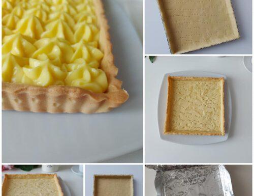 IMPASTO GUSCIO PERFETTO DI FROLLA per crostate con crema e frutta