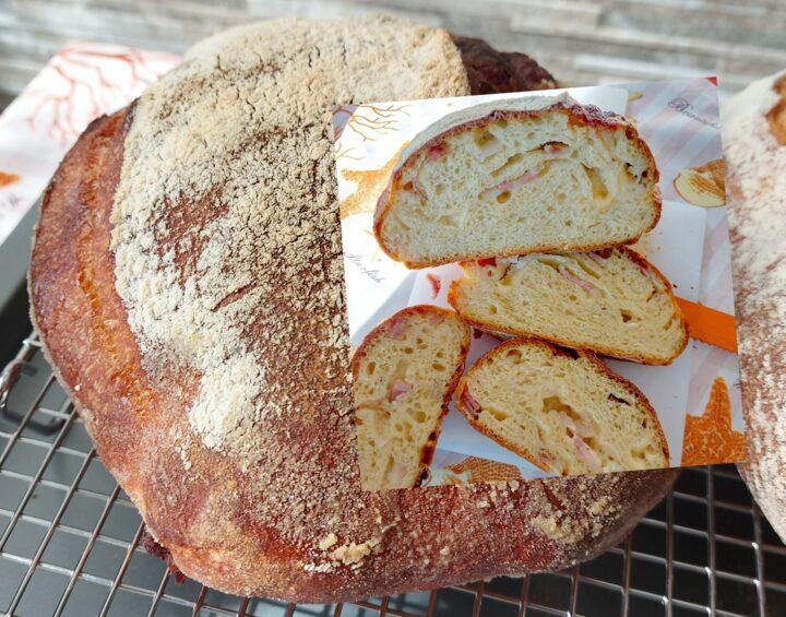 pane con pancetta misto semola ricetta a lunga lievitazione con lievito di birra