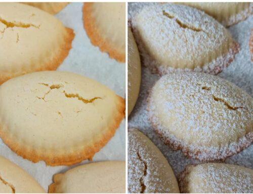 RICETTA MEZZALUNE DI FROLLA dolce biscotto ripieno