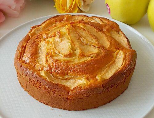 TORTA MELOSA DELLA NONNA dolce con mele e senza burro