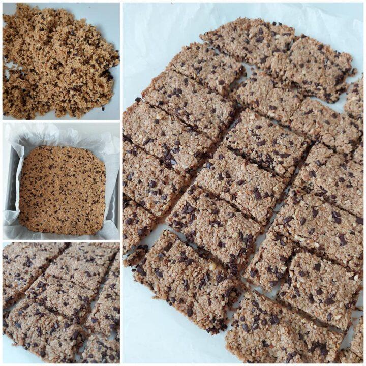 impasto facile biscotti maltagliati avena e cioccolato