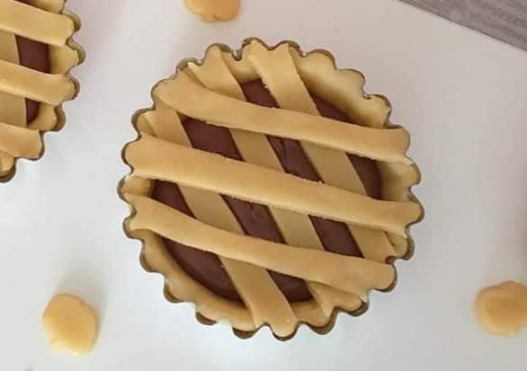 impasto favoloso per crostatine con nutella dolce ripieno