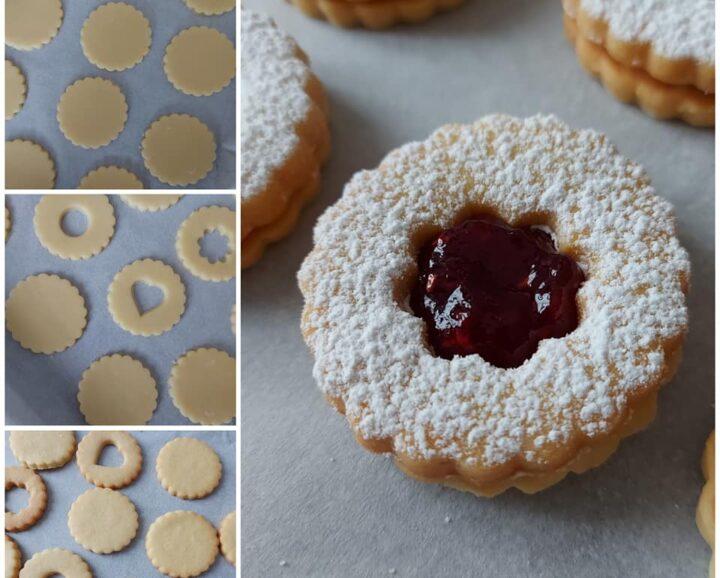 impasto perfetto biscotti marmellata dolce ripieno