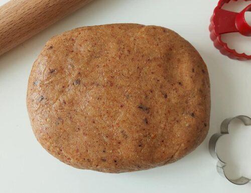 PASTA FROLLA ALLE NOCI dolce impasto per biscotti e crostate
