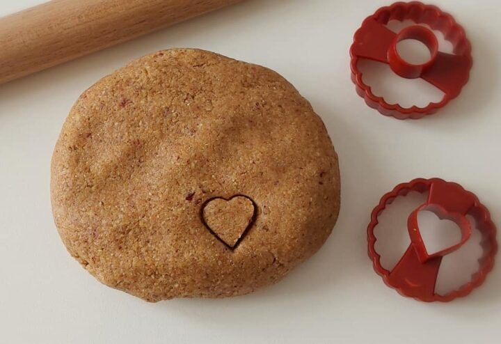 pasta frolla nocciole e mandorle dolce impasto per biscotti e crostate