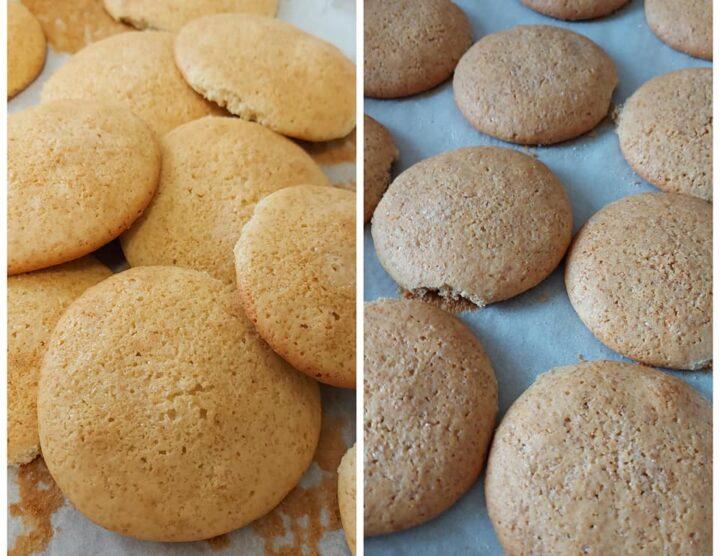 pastarelle da latte semplici e integrali dolce biscotti genuini