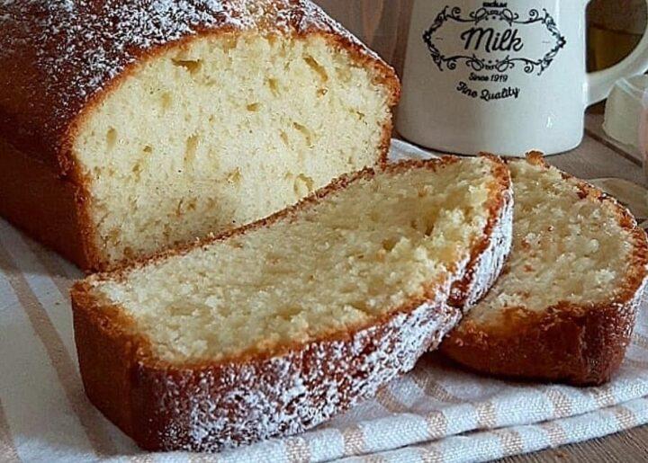 plumcake soffice e genuino della nonna dolce senza burro
