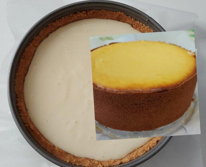 ricetta cheesecake perfetta da forno dolce goloso