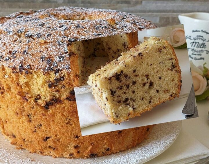torta ciambella nuvola stracciatella dolce ricetta morbidissima
