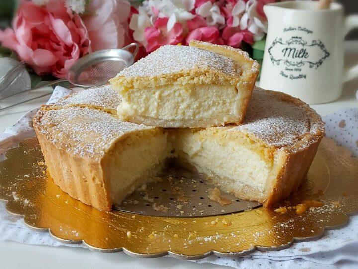 torta crostata paradiso crema ricotta dolce ripieno cremoso