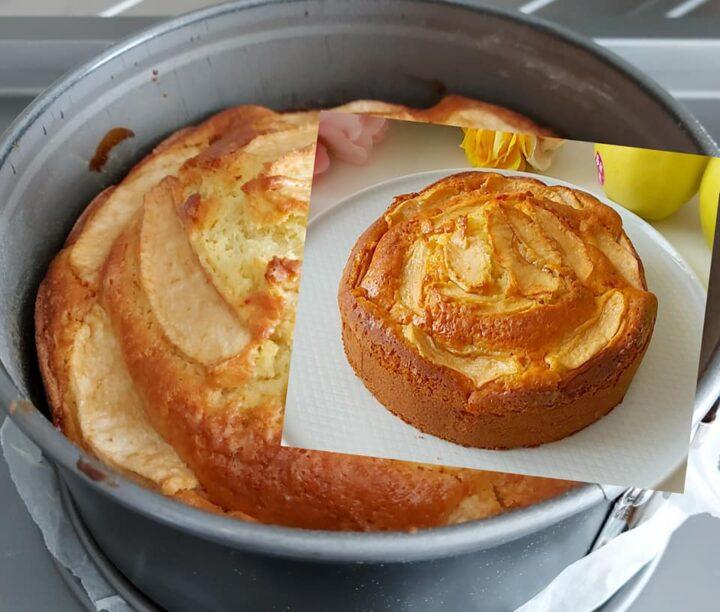 torta facile e perfetta alle mele dolce senza burro