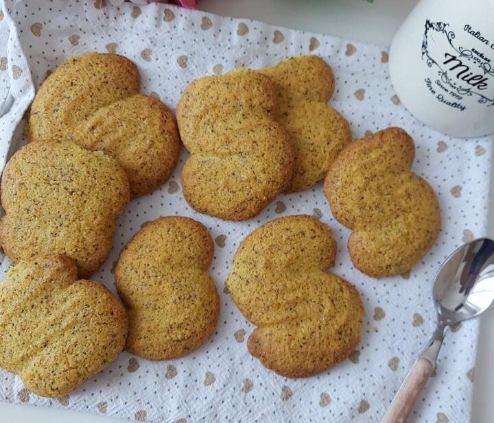 biscotti esse con mais e farina saraceno dolce senza burro