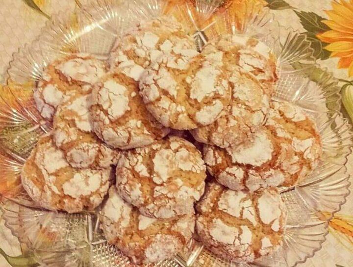 biscotti finti amaretti con mandorla dolce ricetta facile