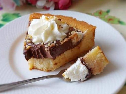 crostata morbida golosa ganache e panna dolce ripieno cremoso
