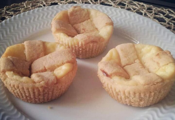 crostatine facilissime crema e ricotta dolce ripieno