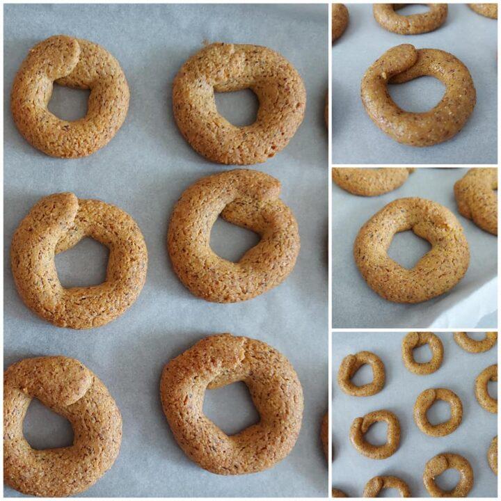 impasto biscotti mais e grano saraceno dolce senza burro