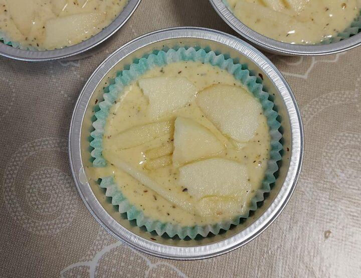 impasto per muffin mela e vaniglia dolce senza burro