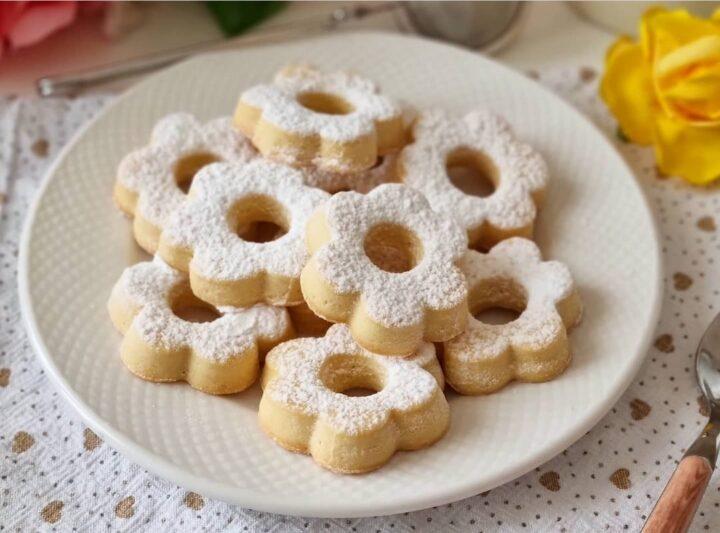 ricetta collaudata biscotti canestrelli si sciolgono in bocca