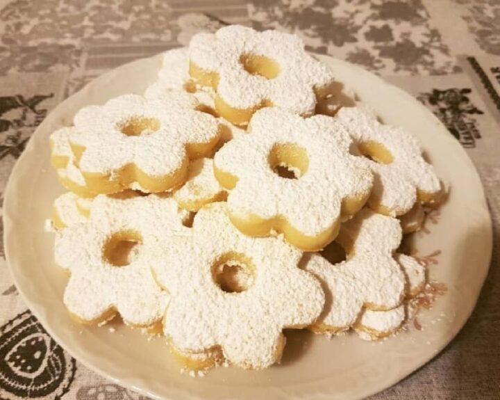 biscotti canestrelli con farina di mais dolce friabilissimo