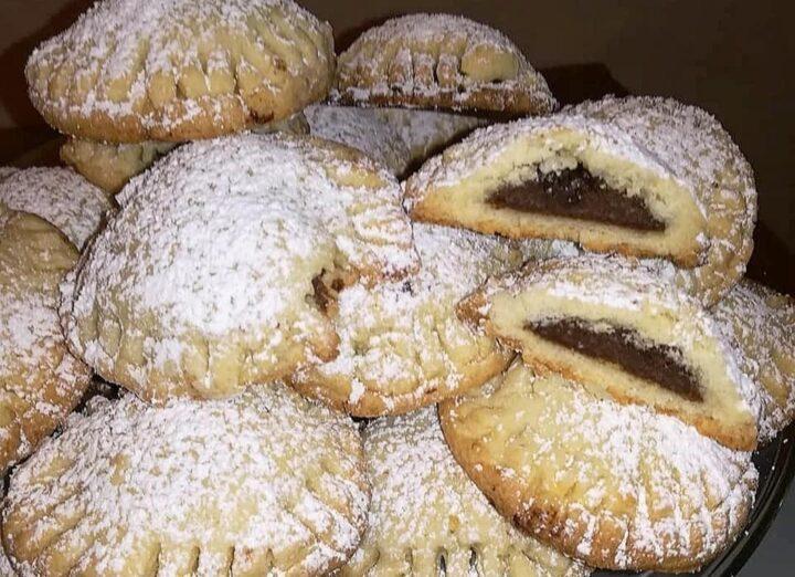 biscotti fagotti ripieni di nutella dolce ricetta facile