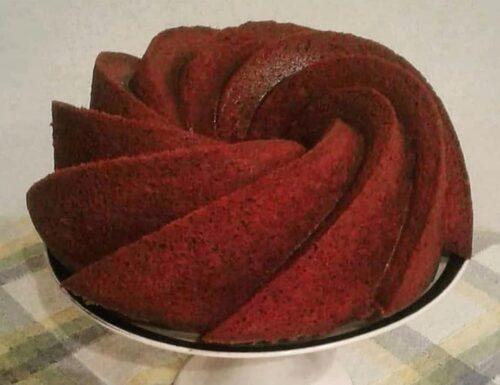 CIAMBELLA GOLOSA RED VELVET dolce soffice e buonissimo
