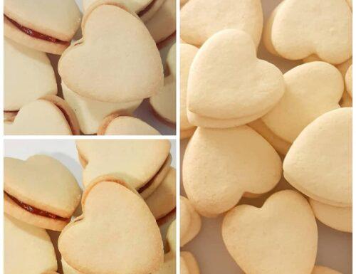 IMPASTO CUORI DI FROLLA biscotti perfetti