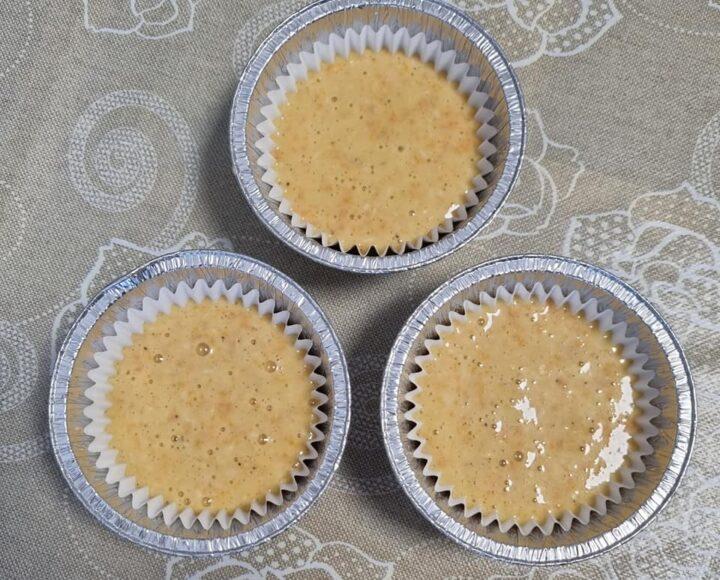 muffin impasto miele e carote dolce senza burro