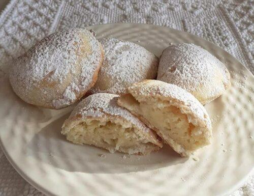 BISCOTTI CASSATELLE DI FROLLA ALLA RICOTTA dolce ripieno
