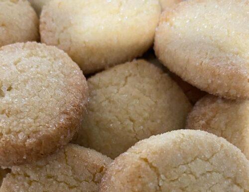 BISCOTTI FROLLINI SABLE' ZUCCHERINI dolce ricetta facile