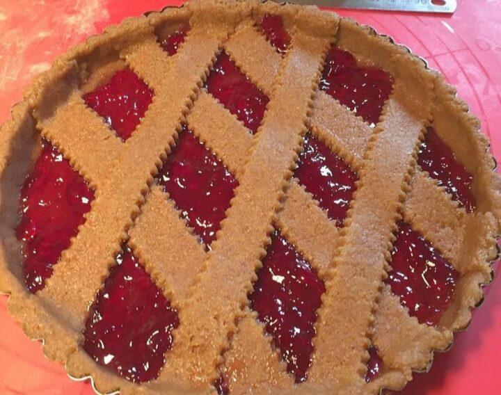 come realizzare una perfetta crostata integrale dolce impasto frolla