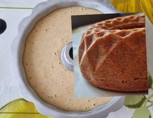 IMPASTO PER CIAMBELLA SENZA LATTOSIO dolce con latte di mandorla