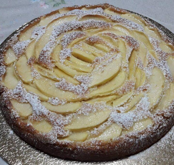 torta di mele soffice senza glutine dolce ricetta facile