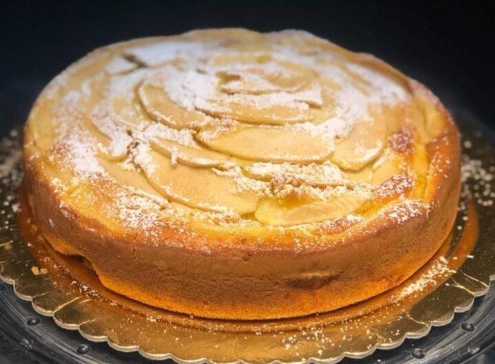 torta favola di mele della nonna dolce ricetta facile