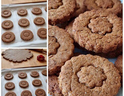 IMPASTO SPECIALE PER FROLLINI INTEGRALI dolce biscotto da colazione